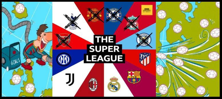 【欧洲超级联赛】成立仅48小时就变天:6家英超豪门集体退出!